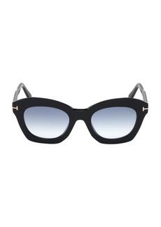 Tom Ford Bardot 53MM Cat Eye Sunglasses