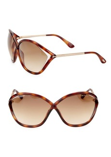 Tom Ford Bella 71MM Round Sunglasses