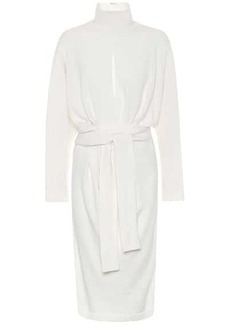 Tom Ford Belted cashmere sweater dress