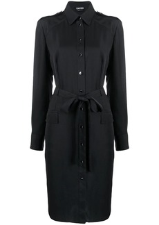 Tom Ford belted shirt dress