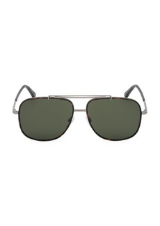 Tom Ford Benton 58MM Aviator Sunglasses