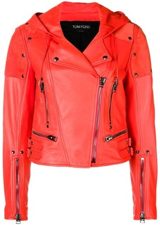 Tom Ford biker cropped jacket