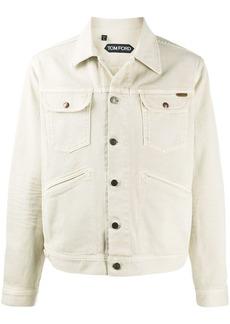 Tom Ford buttoned denim jacket