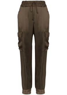 Tom Ford cargo style track trousers
