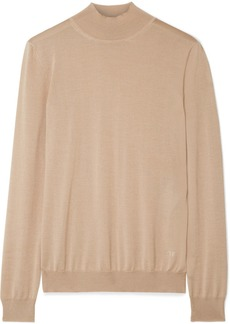 Tom Ford Cashmere And Silk-blend Turtleneck Sweater