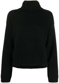 Tom Ford cashmere high-low hem jumper