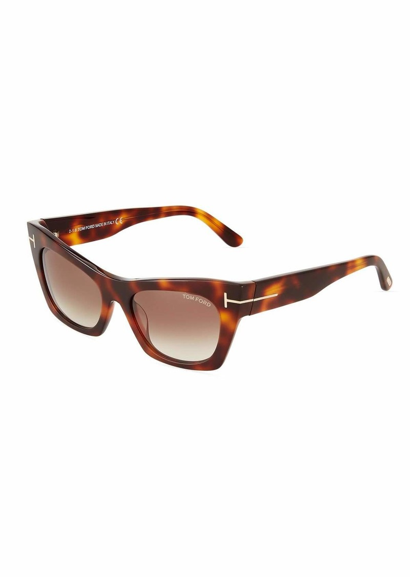 9469c925e4d Tom Ford Cat Eye Plastic Sunglasses
