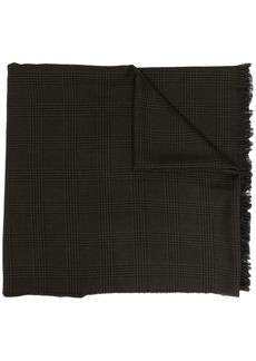 Tom Ford check-print wool scarf