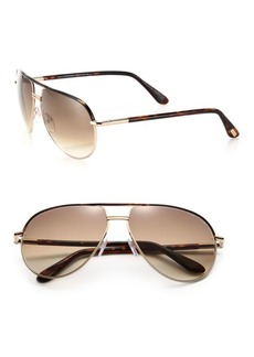 Tom Ford Cole 61MM Aviator Sunglasses