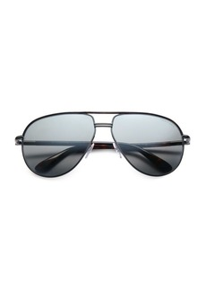 Tom Ford Cole Metal Aviator Sunglasses