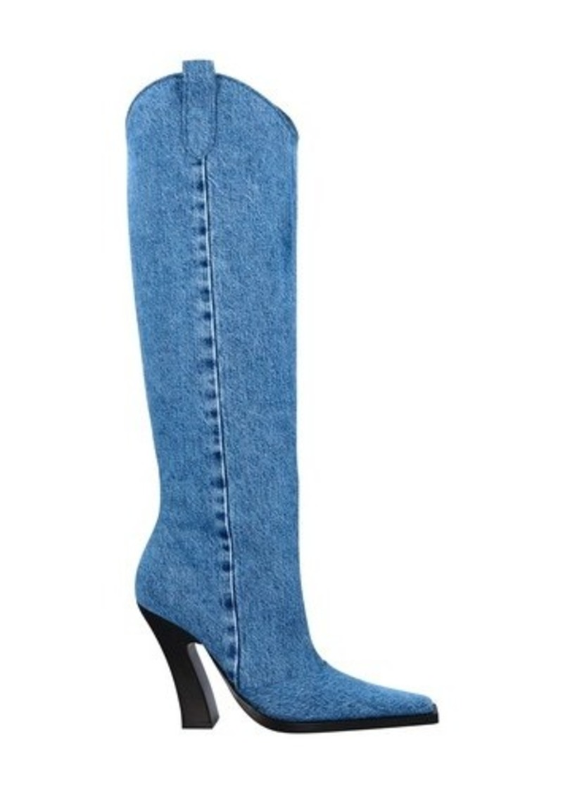 Cowboy denim Boots