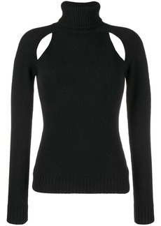 Tom Ford cut-out turtleneck sweater