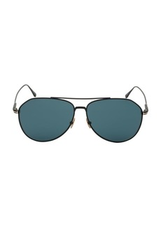 Tom Ford Cyrus 62MM Aviator Sunglasses