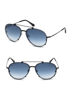 Tom Ford Dickon 59MM Aviator Sunglasses