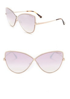 Tom Ford Elise 65mm Cat Eye Sunglasses