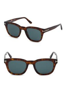Tom Ford Eugenio 52MM Square Sunglasses