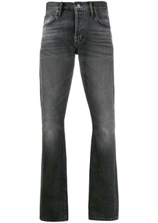 Tom Ford faded-effect straight-leg jeans