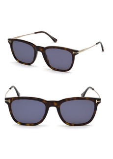 Tom Ford Arnaud 53MM Geometric Sunglasses