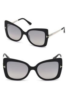 Tom Ford Gianna 54MM Tinted Cat Eye Sunglasses