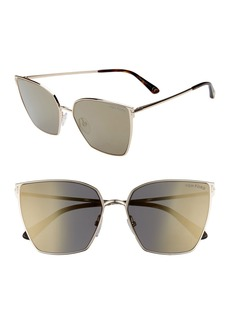 Tom Ford Helena 59mm Cat Eye Sunglasses