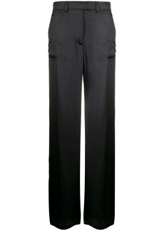 Tom Ford high-rise wide-leg satin trousers