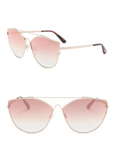 Tom Ford Jacquelyn 64mm Cat Eye Sunglasses