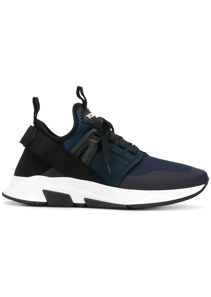 Tom Ford Jago low-top panelled sneakers