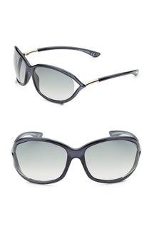 Jennifer 61MM Rectangular Sunglasses