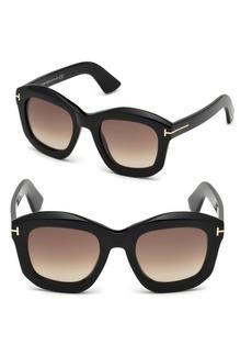 Tom Ford Julia Square Sunglasses