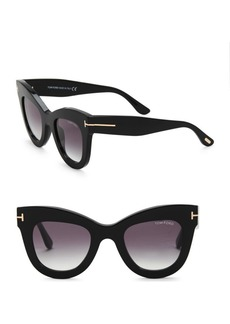 Tom Ford Karina 47MM Square Sunglasses