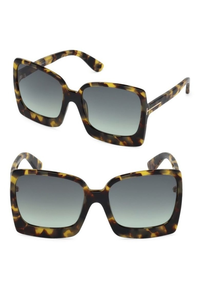 7935c8c67 Tom Ford Katrine 60MM Square Sunglasses | Sunglasses
