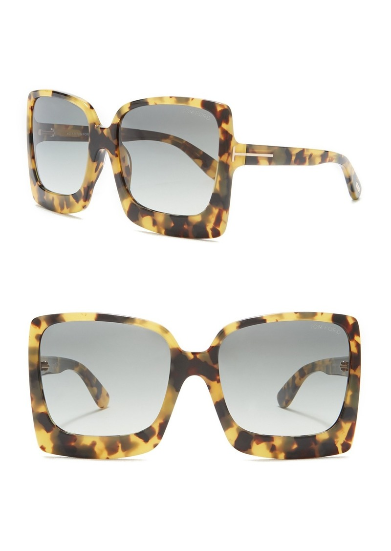 8e51379333 Tom Ford Katrine 60mm Sunglasses