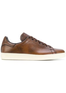 Tom Ford leather lace-up sneakers