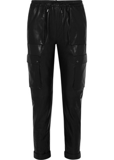 Tom Ford Leather Track Pants