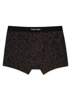 Tom Ford Leopard Boxer Briefs