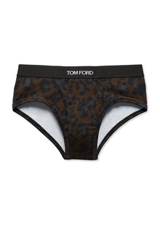 Tom Ford Leopard Briefs