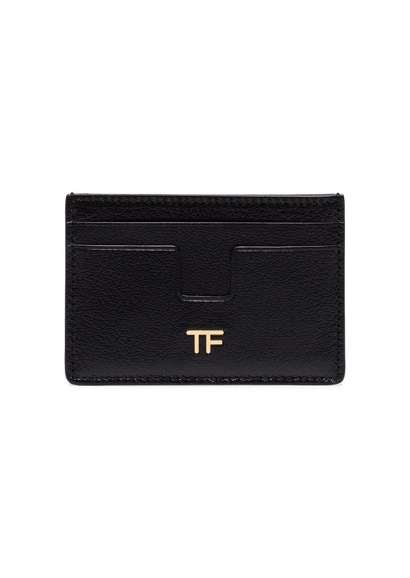 Tom Ford logo-embellished leather cardholder