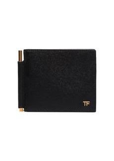 Tom Ford logo plaque bifold wallet