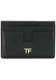 Tom Ford logo plaque cardholder
