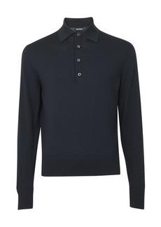 Tom Ford Long sleeves polo shirt