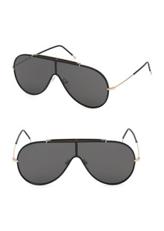 Tom Ford Mack 54MM Shield Sunglasses