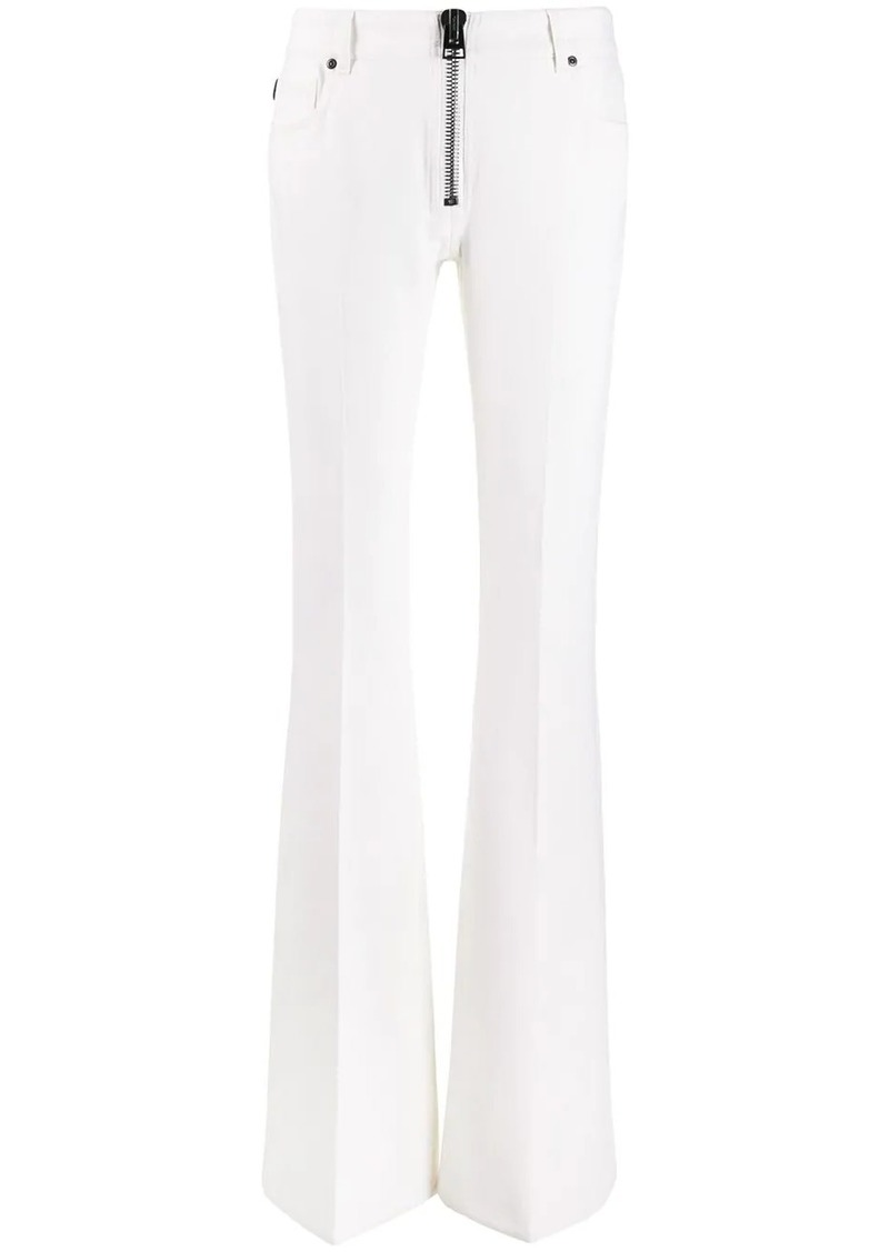 Tom Ford maxi zip flared trousers