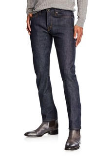Tom Ford Men's Slim-Fit Button-Fly Jeans