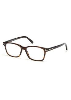Men's Tom Ford 51mm Blue Light Blocking Glasses - Dark Havana/ Blue Block Lens