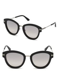 Tom Ford Mia Cat Eye Sunglasses