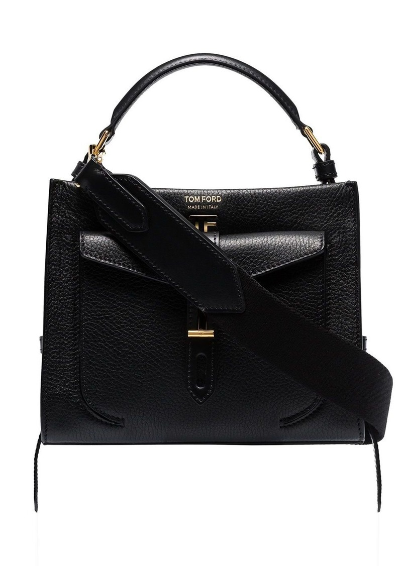 Tom Ford mini top handle leather shoulder bag