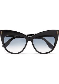Nika cat-eye acetate sunglasses