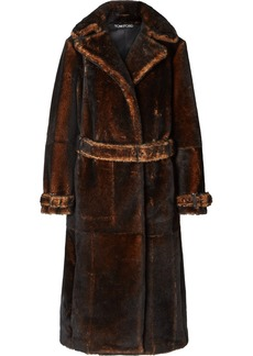 Tom Ford Oversized Shearling Coat
