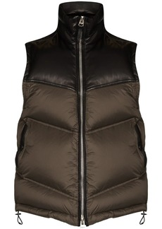 Tom Ford two-tone padded gilet