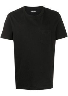 Tom Ford patch-pocket crew neck T-shirt